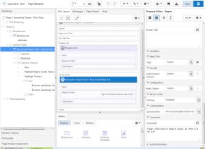 Page Designer in APEX 5