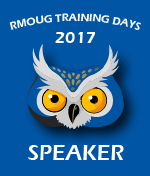 RMOUG TD 2017 - Denver - Be there!